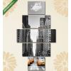 Képáruház.hu Premium Kollekció: Avenue avec des taxis à New York.(135x70 cm, S01 Többrészes Vászonkép)