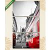 Képáruház.hu Premium Kollekció: Londons traffic(125x70 cm, L01 Többrészes Vászonkép)