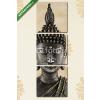 Képáruház.hu Premium Kollekció: Statue de Buddha(125x40 cm, B01 Többrészes Vászonkép)