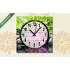 Képáruház.hu Vászonkép óra, Csendélet lila orchideával(25x25 cm, C01)