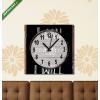 Képáruház.hu Vászonkép óra, Premium Kollekció: I can and i will handwritten on a chalkboard(25x25 cm, C01)