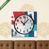 Képáruház.hu Vászonkép óra, Premium Kollekció: Paris design, vector illustration.(25x25 cm, C01)
