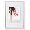 """. Képkeret, műanyag, 10x15 cm,  """"New  Lifestyle"""",  ezüst"""
