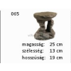 Kerámia M065 teknős kimászó magas 25 cm
