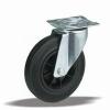 Kerék önbeálló talpas műanyag felnis 125 31123 (11524)