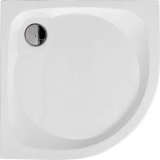 Kerra ALAN80 univerzális íves zuhanytálca 80x80x15 cm kád, zuhanykabin