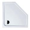 Kerra Glasgow szögletes akril zuhanytálca 90x90x15 cm