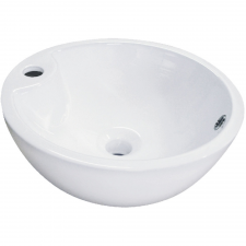 Kerra KR40 kerámia design mosdó, kerek, 40,5x16cm fürdőszoba kiegészítő