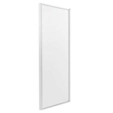 Kerra OPTIMOSC80ML zuhanyfal, 80x190, tejfehér csíkos üveg fürdőkellék