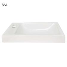 Kerra RIMINI-P Rimini kerámia design mosdó, jobbos beépítéssel 43x23 cm fürdőkellék