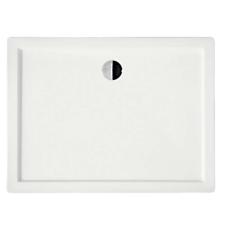 Kerra VICTOR120 aszimmetrikus akril zuhanytálca 120x80x14 cm kád, zuhanykabin