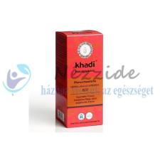 Khadi Khadi hajfesték növényi por-vörös 100 g hajfesték, színező