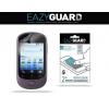 Kijelzővédő fólia, Alcatel OT-908 ( T-Mobile Move) Eazy Guard, Clear Prémium / Matt, ujjlenyomatmentes, 2 db / csomag