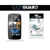 Kijelzővédő fólia, HTC Desire 500, Eazy Guard, Clear Prémium / Matt, ujjlenyomatmentes, 2 db / csomag