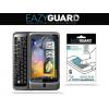 Kijelzővédő fólia, HTC Desire Z, Eazy Guard, Clear Prémium / Matt, ujjlenyomatmentes, 2 db / csomag