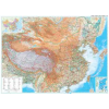 Kína domborzati falitérkép - GiziMap