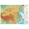 Kína domborzati (német)