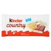 Kinder Country tejcsokoládé szelet tejes krémmel és gabonapelyhekkel töltve 4 db 94 g