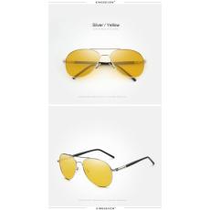 KINGSEVEN polarizált napszemüveg éjszakai vezetéshez, alumínium kerettel