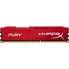 Kingston 4 GB DDR3 SDRAM 1600 MHz HyperX Fury CL10 Red