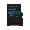 Kingston Canvas Go! microSD 90MB/s 64GB