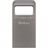 Kingston DTMC3/64GB DT Micro 3.1 pendrive - 64GB - szürke