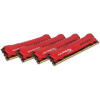 Kingston HyperX Savage 32GB 1866MHz DDR3 memória Non-ECC CL9 Kit of 4
