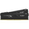 Kingston Memória HYPERX DDR4 16GB 3600MHz CL17 DIMM 1Rx8 (Kit of 2) Fury Black