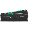 Kingston Memória HYPERX DDR4 16GB 3600MHz CL17 DIMM 1Rx8 (Kit of 2) Fury RGB