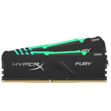 Kingston Memória HYPERX DDR4 16GB 3600MHz CL17 DIMM 1Rx8 (Kit of 2) Fury RGB memória (ram)