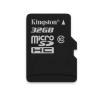 Kingston Memóriakártya MicroSDHC 32GB, Class 10