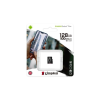 "Kingston Memóriakártya, microSDXC, 128GB, CL10/UHS-I/U1/V10/A1, KINGSTON ""Canvas Select Plus"""