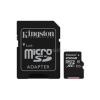 Kingston Memóriakártya MicroSDXC 256GB CL10 UHS-I Canvas Select (80/10) + Adapter (SDCS/256GB)