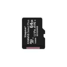 Kingston Memóriakártya MicroSDXC 64GB Canvas Select Plus 100R A1 C10 Adapter nélkül memóriakártya
