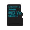 Kingston MICRO SD Kingston 32GB Canvas Go! UHS-I U3 CL10 adapter nélkül (SDCG2/32GBSP)