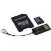 Kingston Micro SDHC 16GB Class 10 + SD adapter és USB olvasó