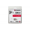 "Kingston Pendrive, 128GB, USB 3.1+Type-C, 100/15 MB/s, KINGSTON ""MicroDuo 3C"""