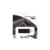 "Kingston Pendrive, 256GB, USB 3.2, KINGSTON ""DataTraveler Exodia"", fekete-rózsaszín"