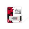 Kingston Pendrive, 32GB, USB 3.1, KINGSTON DT50, ezüst-piros (UK32GDT50)