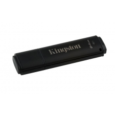 "Kingston Pendrive, 4GB, USB 3.0, 80/12MB/s, titkosítással,  ""DT4000G2 Management Ready"", fekete pendrive"