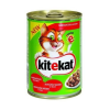 Kitekat Állateledel konzerv KITEKAT macskáknak marhahússal 400g