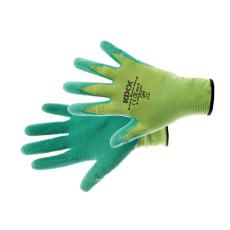 Kixx GROOVY GREEN kesztyű nylon, latex zöld - 10