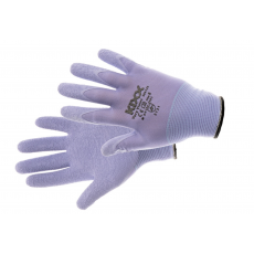 Kixx VERY VIOLET kesztyű nylon, latex ibolya - 8