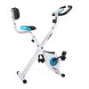KLARFIT Azura Comfort Fahrrad-Heimtrainer Rückenlehne klappbar 100kg