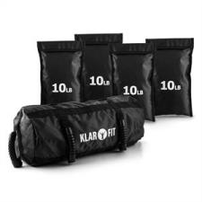 KLARFIT Force Bag, sandbag, homokzsákok, 18 kg fitness eszköz