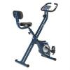 KLARFIT Klarfit Azura CF X-Bike szobakerékpár, max. 100 kg, pulzusmérő, összecsukható, 3 kg, kék