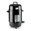 Klarstein Barney, elektromos grillsütő 3 az 1-ben, BBQ grill, smoker (füstölő), 1800W, 3 x 40 cm, hőmérő