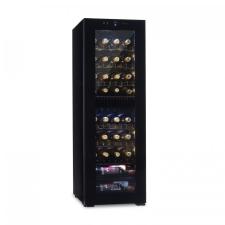 Klarstein Bellevine Deux 39 Flex, borhűtő, hűtőszekrény, 2 zóna, 105 l, 39 palack borhűtőgép