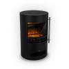 Klarstein Brixen, elektromos kandalló, 900/1800 W, InstaFire, termosztát, fekete