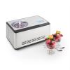 Klarstein Dolce Bacio fagylaltkészítő , kompresszor, 2 l, LCD kijelző, érintésvezérlés, nemesacél